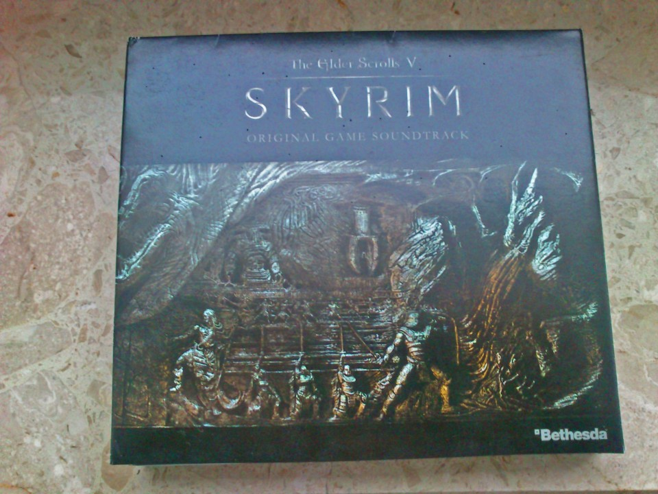 Skyrim O.S.T. signed by Jeremy Soule