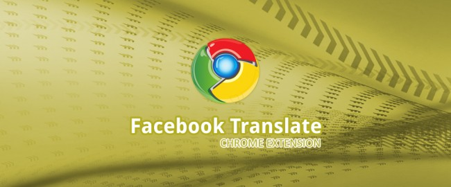Facebook Translate For Chrome