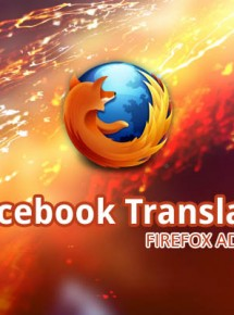 Facebook Translate For Firefox