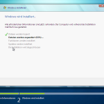 Die Installation von Windows 7