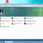 Der Windows 7 Willkommensbildschirm