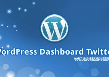 WordPress Dashboard Tweeter