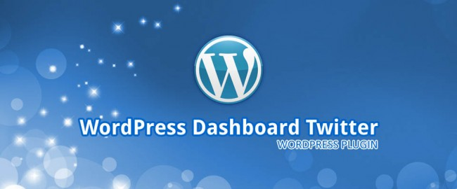 WordPress Dashboard Twitter